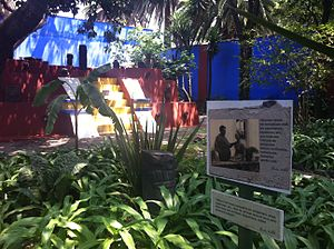 Español: Roca Frida Kahlo