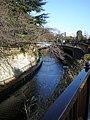 Myoshoji river at Tetsugaku-do Park.jpg