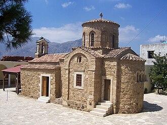 Myriokefala - The Church of Virgin Mary at Myriokefala
