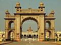 Mysore Palace Main Entrence.jpg