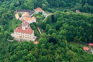 Náchod - Image: Náchod from air 2