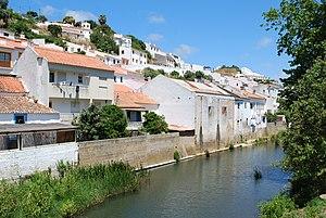 Aljezur River - Aljezur River in the village of Aljezur