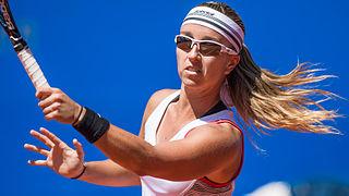 Beatriz García Vidagany Spanish tennis player