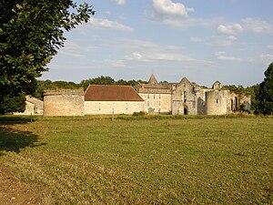 Saint-Martin-l'Ars - Abbey of Notre-Dame de la Réau