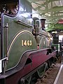 NER E5 2-4-0 1463 (1885) Head of Steam, Darlington 30.06.2009 P6300111 (10192722344).jpg