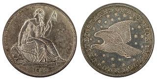 Gobrecht dollar US silver dollar coin (1836–1839)