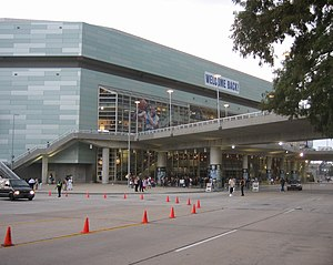 When the Levees Broke - New Orleans Arena on August 16, 2006, the day of the premiere of the film.