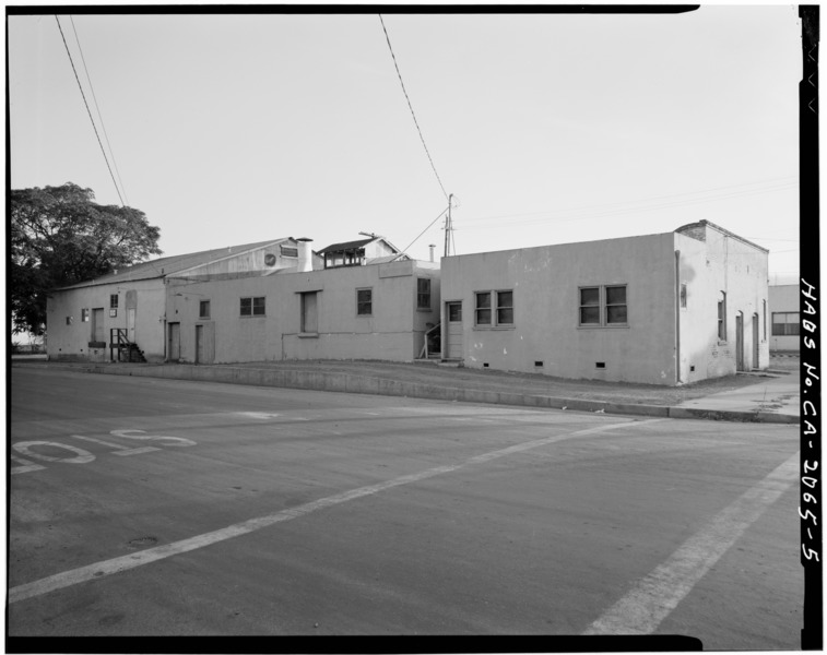File north front and east flank live oak creamery 88 martin street