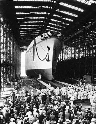 NS Savannah - Launch of Savannah, July 21, 1959