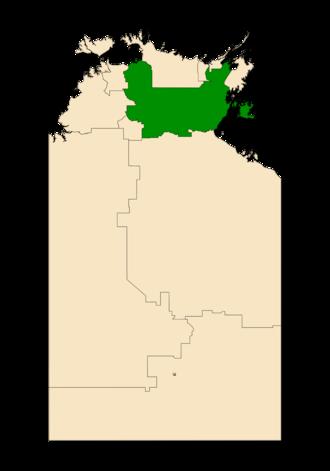 Electoral division of Arnhem - Arnhem in the Northern Territory