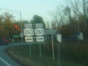 Interstate 990 - Northern terminus of I-990 at NY 263