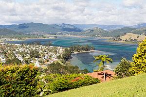 Tairua River - Tairua Harbour, output of the Tirua river into the Pacific
