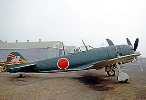 K Nakajima Ki-84 Hayate (Frank) preserved in California in 1970. As of 2014, this ...