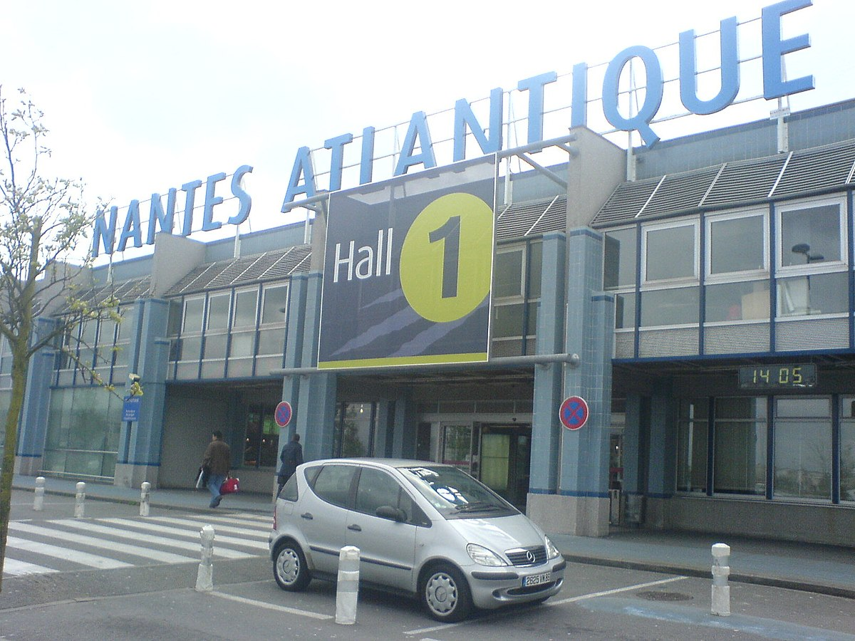 Nantes atlantique airport wikipedia for Chambre de commerce nantes