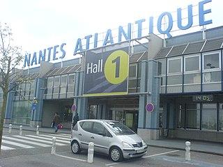 Nantes Atlantique Airport international airport serving Nantes, France