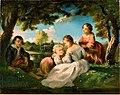 Narcisse Virgile Diaz de la Peña - Children Playing - A-2002-579 - Finnish National Gallery.jpg