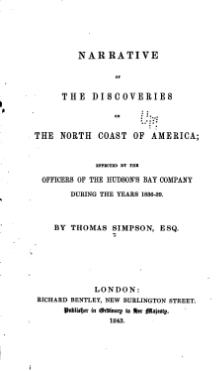 Narrative of the Discoveries on the North Coast of America.djvu