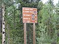 National Forest road sign in Colorado's Front Range.jpg