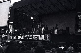 National Jazz and Blues Festival - The 15th National Jazz, Blues and Rock Festival held at Reading in 1975