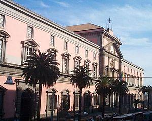 National Archaeological Museum, Naples - Façade of the museum