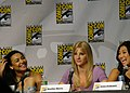 Naya Rivera, Heather Morris & Jenna Ushkowitz (4853142430).jpg