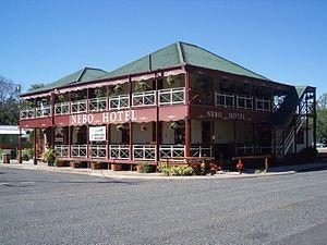 Nebo, Queensland - Nebo Hotel, 2009