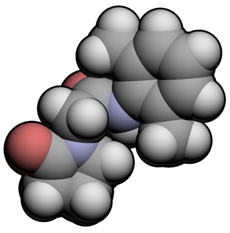 Nefiracetam - Image: Nefiracetam 3d
