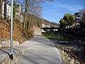 Neuer Fußweg am nördlichen Dreisamufer in Freiburg bei der Schwabentorbrücke.jpg