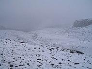 Nevado del Ruiz. La nieve puede ser encontrada en las cumbres más altas del país.
