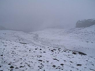 Climate of Colombia - Image: Nevado del Ruiz en Colombia