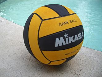 Water polo ball - A new style of water polo ball introduced in 2005