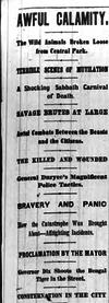1874 Herald hoax headline