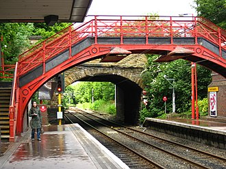 South Gosforth Metro station - South Gosforth Metro station