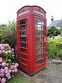 Newchurch High Street telephone box.JPG