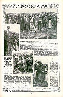 Miracle of the Sun Miracle of Fatima, Portugal, 13 October 1917