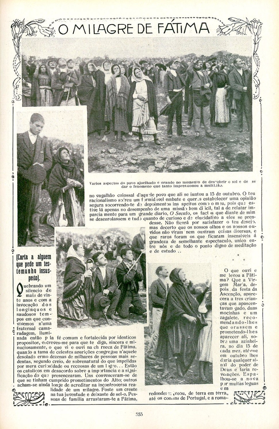 Newspaper fatima 353