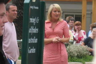 Nicki Chapman - Nicki Chapman at the Chelsea Flower Show in 2008