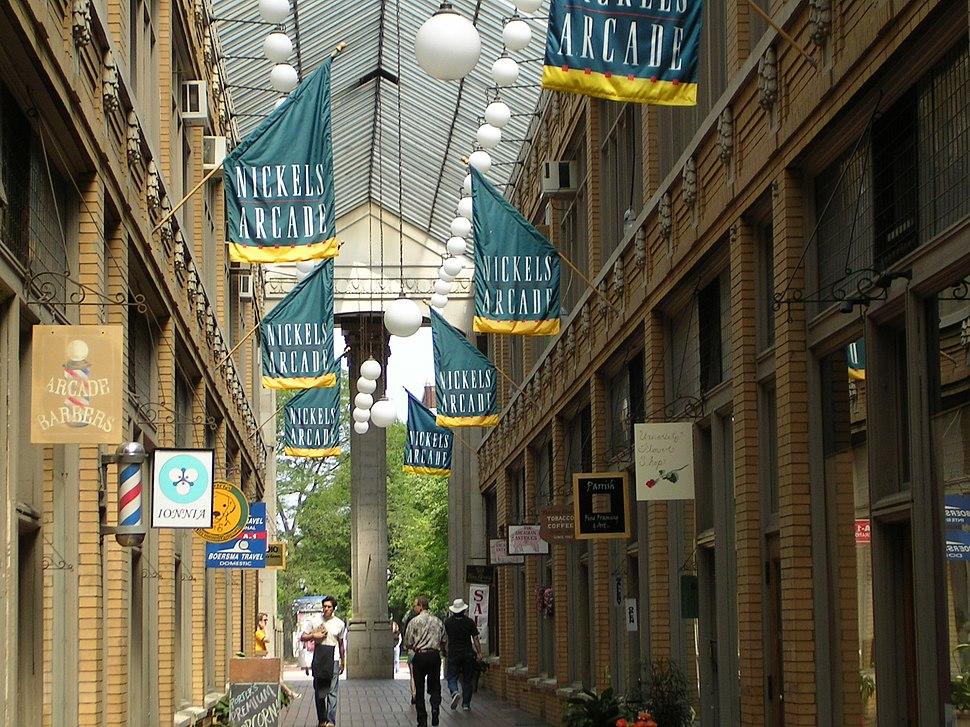Nickles Arcade Ann Arbor