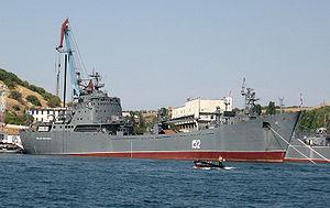 Alligator-class landing ship - Image: Nikorai Fil'chenkov 2007Sevastopol