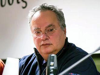 Nikos Kotzias - Image: Nikos Kotzias 2013 cropped