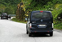 b6982bf326 The all-electric Nissan e-NV200 van was released in Norway in 2014.