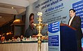 Nitin Gadkari addressing at the skill development programme for highways construction sector, in New Delhi.jpg