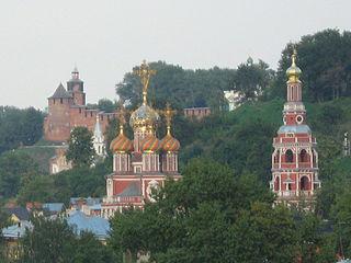 Строгановская церковь в Нижнем Новгороде (1696—1719)