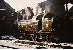 National Coal Board - No 29 ready for duty at Philadelphia NCB shed