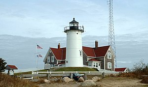 Falmouth, Massachusetts - Nobska Lighthouse, Falmouth