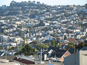 Noe Valley, San Francisco, California, USA.