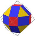 Nonuniform rhombicuboctahedron as rectified rhombic dodecahedron max.png