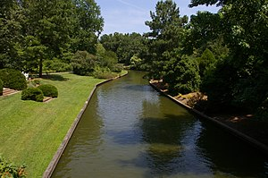 Norfolk Botanical Garden - Canal in the Norfolk Botanical Garden