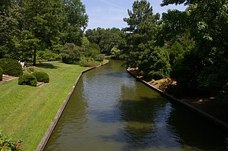 Canal at the Norfolk Botanical Garden NorfolkBotanicalGardenCanal.jpg