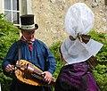 Norman folk costume coiffe hurdy gurdy.jpg